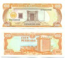 DOMINICAN REPUBLIC NOTE 100 PESOS ORO 1994 P 136b UNC