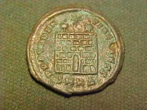 AE3 of Constantine ll in  fine condition  337-340 AD.