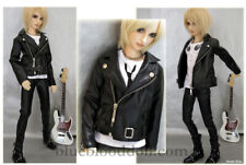 1/3 BJD 70cm Luts SSDF boy doll clothes outfit leather jacket dollfie luts