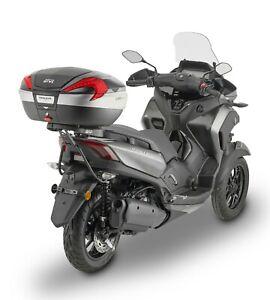 YAMAHA TRICITY 300 2020 TOP BOX GIVI V56NN TOP CASE + SR2149 RACK MONOKEY M7
