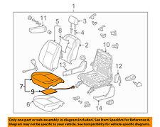 TOYOTA OEM 2005 Tundra Front Seat-Cushion Bottom Cover Left 710720C200B4