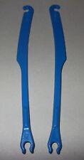 43609, 2x Zugstange für Joch / Kummet, (Pferd, 1. - 3. Generation), blau