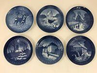 VINTAGE Royal Copenhagen Collector Plate Denmark Porcelain CHOOSE YOUR YEAR