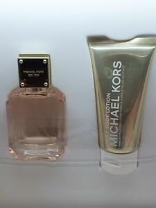 Michael Kors sparkling blush eau de parfum and body lotion gift set