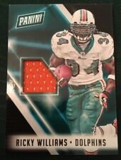 2018 Panini National Silver Pack Ricky Williams Dolphins Jersey Card