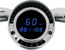 Dakota Digital Direct Plug in Blue LED Speedometer Speedo for Big Dog Motorcycle