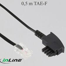 0,5 m TAE-F Kabel VDSL DSL-Router,TAE-F Stecker,RJ45 ,Fritzbox, Easybox, AVM (71