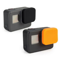 Silicone Lens Protective Cover Cap Protector For Gopro Hero 7, 6, 5 Black Camera