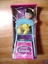 Vintage Lovee'S Sweet Linda High Chair Doll Drink-Wet