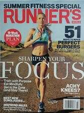 Runner's World Jul 2017 Katie Mackey Sharpen Your Focus Fitness FREE SHIPPING sb