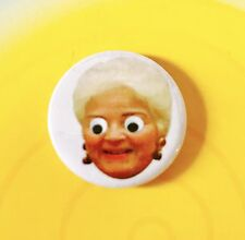 Goggle Eyed Pat Butcher Eastenders  button pin badge
