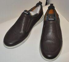 ECCO Men's Transit Slip on Shoes Size EU 44 US 10 / 10.5 Coffee