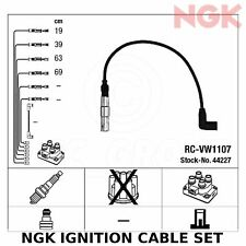 NGK Ignition Cable Set (HT Leads) - Stk No: 44227, Part No: RC-VW1107