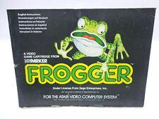 Anleitung - Handbuch - Bedienungsanleitung Atari - Frogger