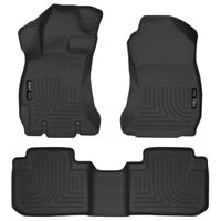 Husky Liners 99881 WeatherBeater Front & 2nd Seat Floor Liner For Forester