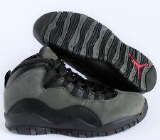 factory price eaf28 cfaf5 Air Jordan 10 Retro Dark Shadow Black Gray Shoes Size 11 Mens 310805 002