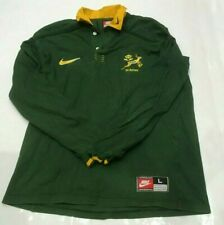 Vintage 1997-1999 Nike South Africa Springboks Rugby Union Jersey/Shirt - Large
