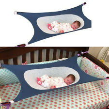 Baby Folding Oxford Cloth Cot Bed Travel Playpen Hammock Holder Crib Portable @I