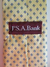 Jos. A. Bank geometric necktie. Small designs. A few cloth creases. Free Shippin