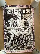 FAILE SWEET SINS 250 Edition RARE SIGNED EDITION 2013 Banksy etc