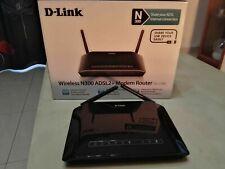 Modem router D-Link DSL 2750b-Wireless n300 adsl +