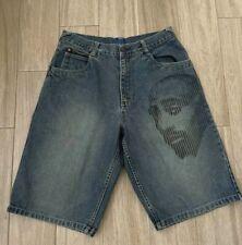 Makaveli Branded Mens size 36 Jean Shorts  Urban Hip Hop Tupac
