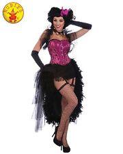 Womens Burlesque Showgirl Cabaret Mardi Gras Costume - Sz Standard 10,12,14