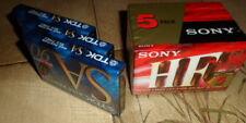 Kassetten 8 Stück - 5 mal Sony HF P Normal 60m und 3 mal TDK SA High P 90m