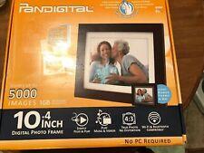 Pandigital 10.4 inch Digital Photo Frame 5000 Images Slideshow Clock Bonus Frame