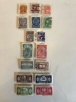 HONDURAS STAMPS EARLY OLDER ESTATE COLLECTION USED LOT SET OF 16