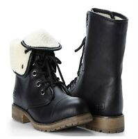 New Dirty Laundry Women's Raeven Black Fold-Over Ankle Boot Size 6(US)