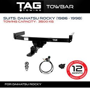 TAG Towbar Fits Daihatsu Rocky 1986 - 1998 Towing Capacity 3500Kg 4x4 Exterior
