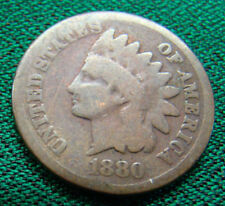 1880 INDIAN HEAD CENT / FREE SHIPPING !