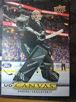 UPPER DECK 2019-2020 SERIES ONE ANDREI VASILEVSKIY CANVAS HOCKEY CARD C-11