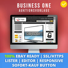 Black One | eBay Template Auktionsvorlage Verkaufsvorlage Ebayvorlage Responsive