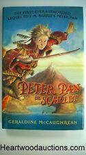 Peter Pan in Scarlet by Geraldine McCaughrean FIRST