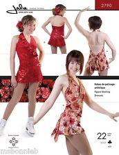 Jalie Crossover Halter Figure Skating Dress Sewing Pattern 2790 Misses' & Girls'