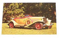 Vintage Postcard Post Card 1933 Auburn V-12 Boattail Speedster