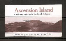 Ascencion Island Scott #  275,276,280 & 282 Flowers . Complete Booklet.