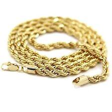 Halsketten und Anhänger aus Gelbgold ohne Steine