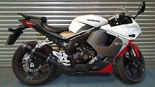 Hyosung GTR125 / GT125 COMET Black GP PRO Road-Legal / Race Exhaust Can