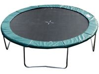 14ft Round Trampoline Replacement Pad, Green ( Pad Only)