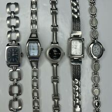New listing A Lot Bulk Silver Ladies Denacci Timex PH CG Retro Watches Untested