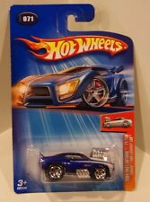 Hot Wheels 2004 First Editions #71 'Tooned '1969 Camaro Z28 KMART EXCLUSIVE BLUE