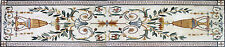 Classic Carpet Floral Design Chic Majestic Marble Mosaic Fl754