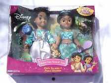 NEW Little Jasmine & Prince Aladdin Before Once Upon a Time Doll Figures Disney