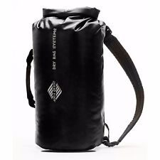 Aqua Quest Mariner 20L Waterproof Backpack Dry Bag DayPack - Black