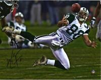 "Wayne Chrebet New York Jets Autographed 8"" x 10"" Diving Catch Photograph"