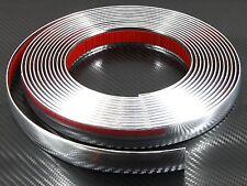 21mm X 2,45 M Cromato Auto Styling stampaggio STRISCIA Trim per ALFA ROMEO 145 159