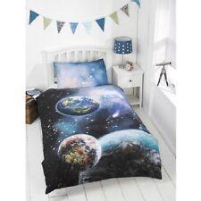 Kinder fluoreszierend Planeten Bettbezug Set Einzeln Größe-bm